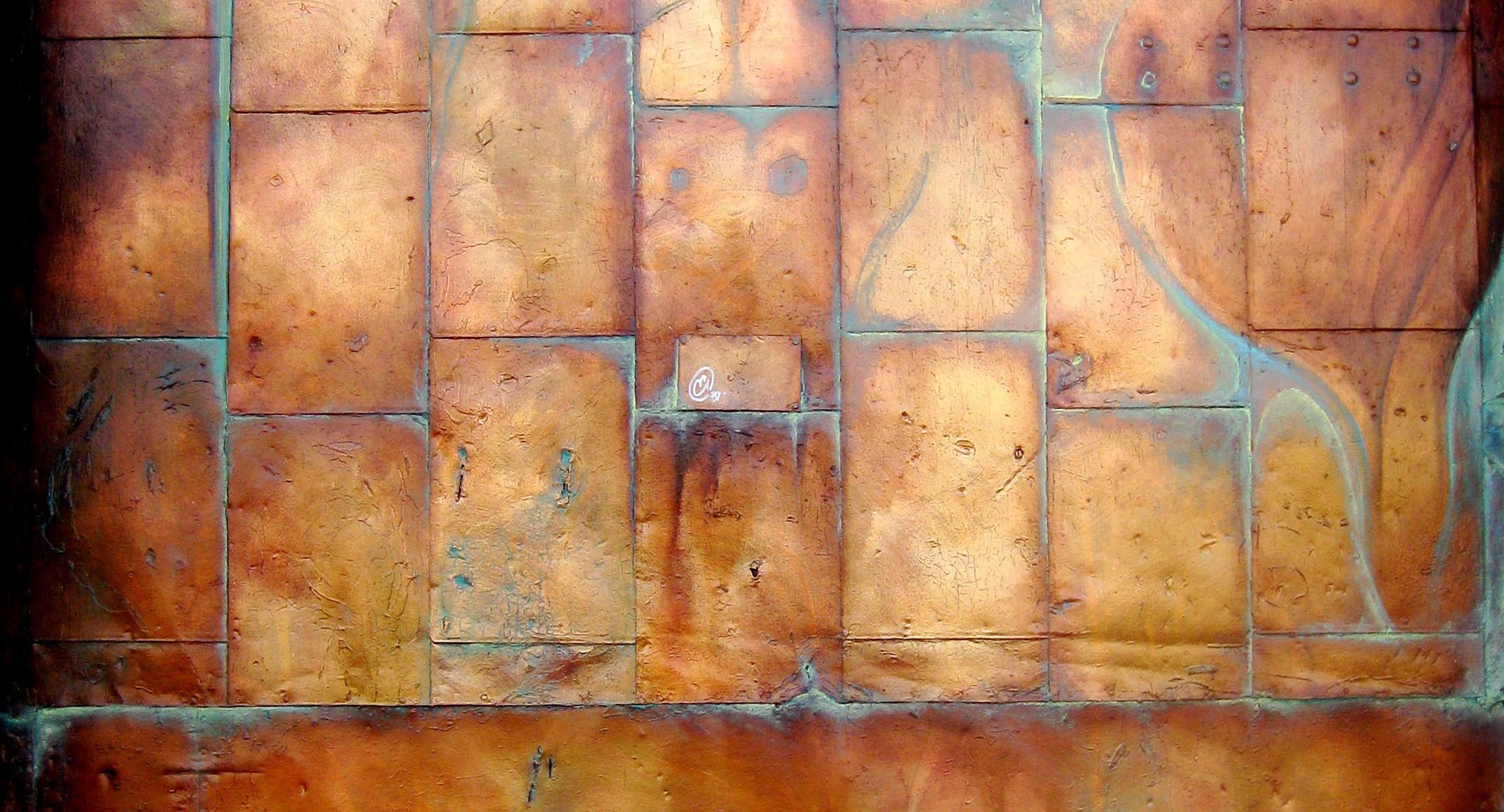 Copper Wall Paneling : Artist ethan william mason oils pastels charcoal